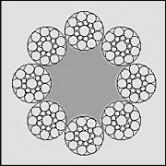 Linystalowe,dźwigowe8x19S-SFC(DRULIFT8/19)